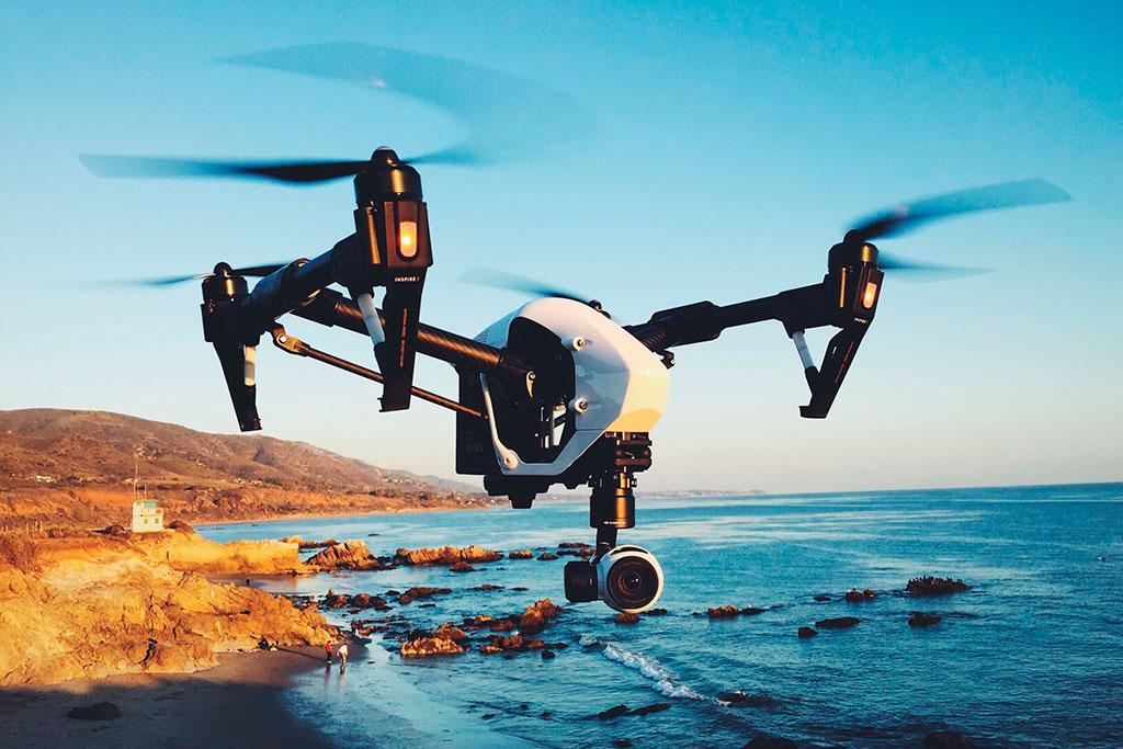 Квадрокоптер с большой дальностью полета с камерой