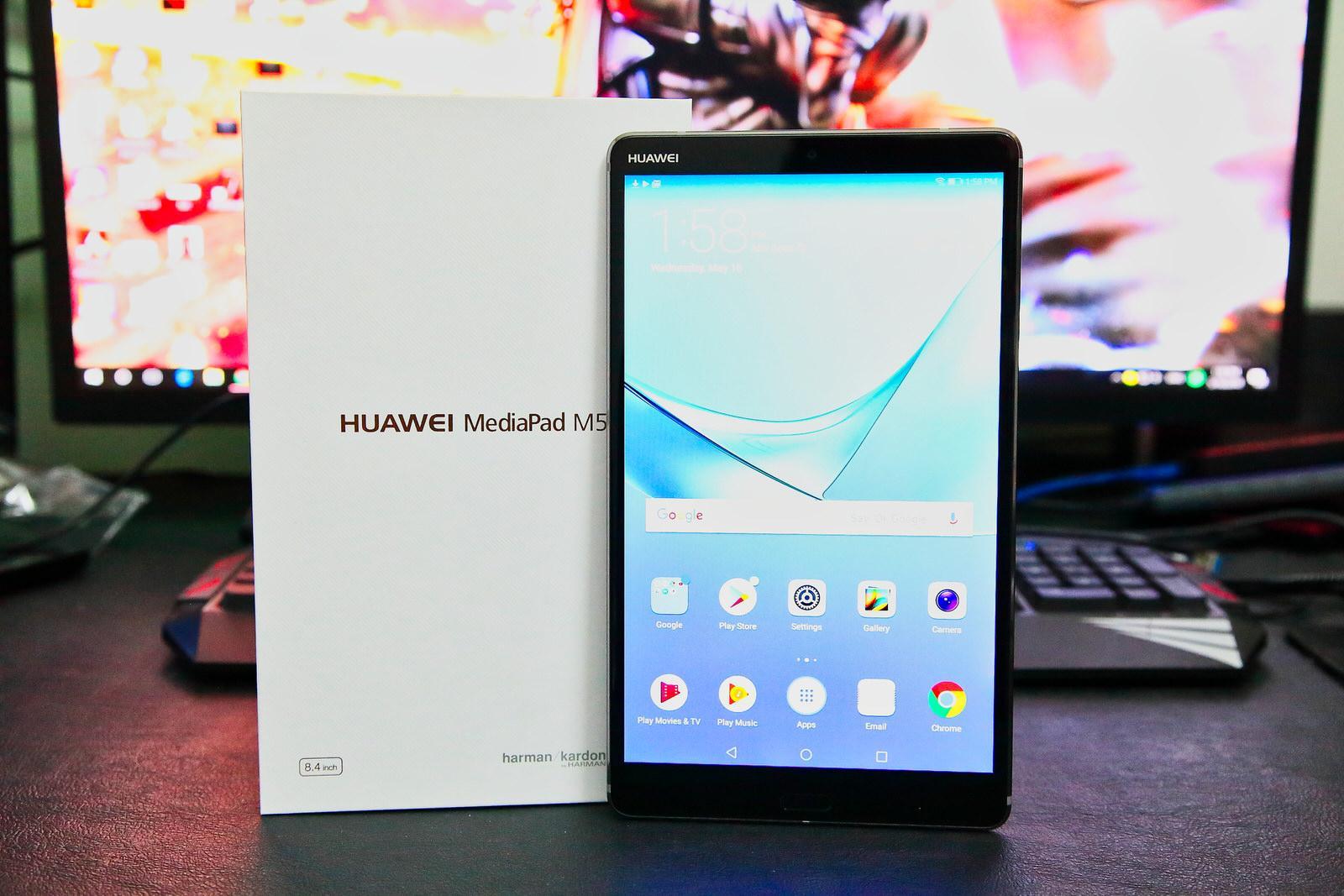 Обзор Huawei MediaPad M5 8.4 - доступный и сбалансированный планшет