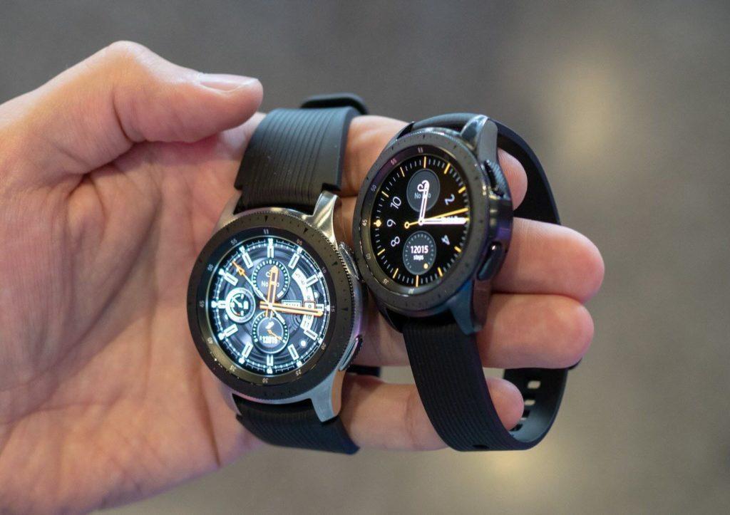 Samsung Galaxy Watch - Новые водонепроницаемые умные часы