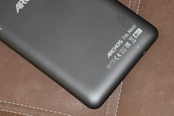 Обзор Archos 70b Neon - недорогой, но функциональный планшет
