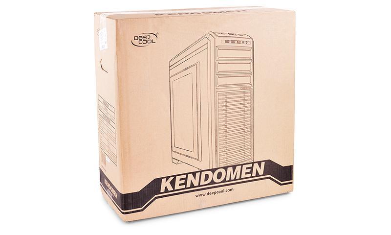 Deepcool Kendomen - красивый и функциональный корпус