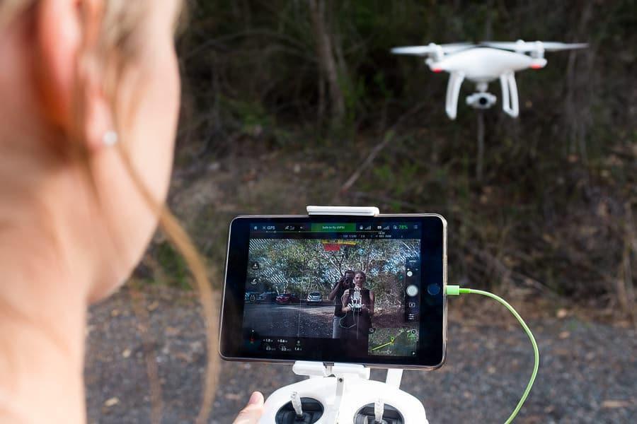 Обзор DJI Phantom 4 - дрон из будущего