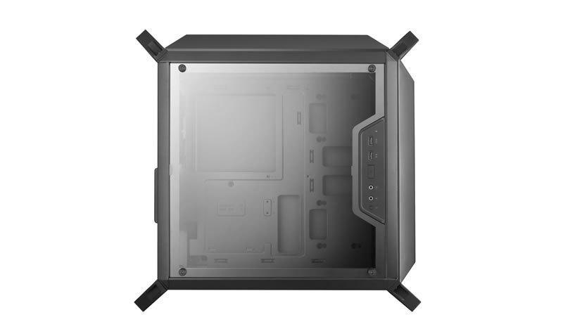 Cooler Master MasterBox Q300P - отличное решение для современной игровой станции