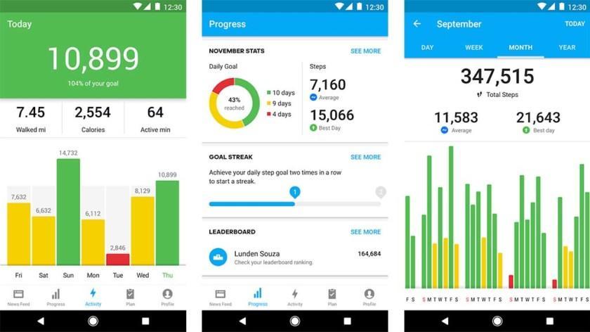 Самые лучшие и популярные шагомеры для Android