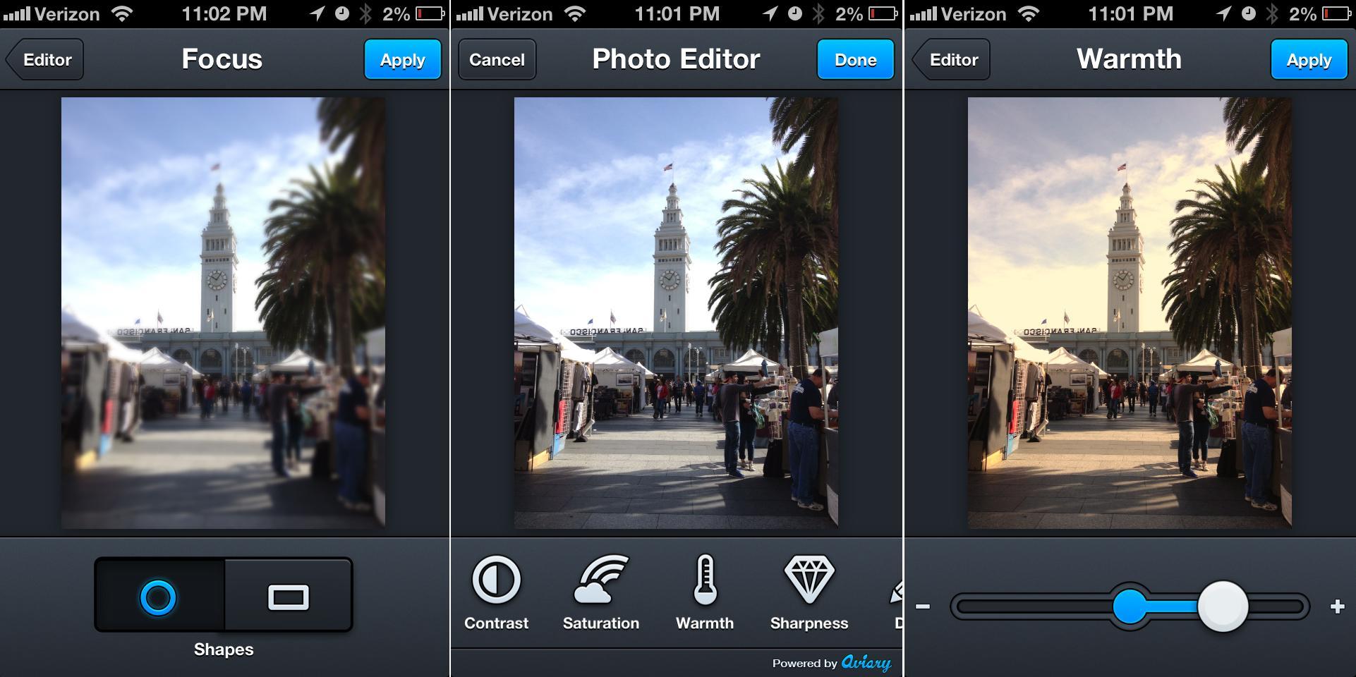 Лучшие приложения для обработки фото на Android