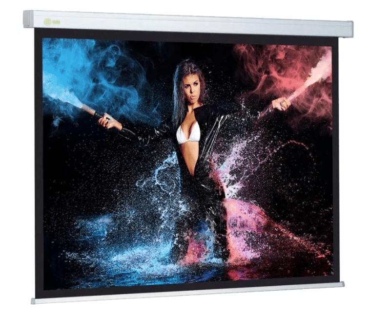 Лучшие модели экранов для проектора с электроприводом