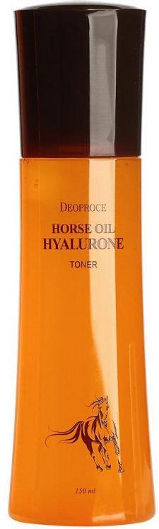 Deoproce Horse Oil Hyalurone Toner