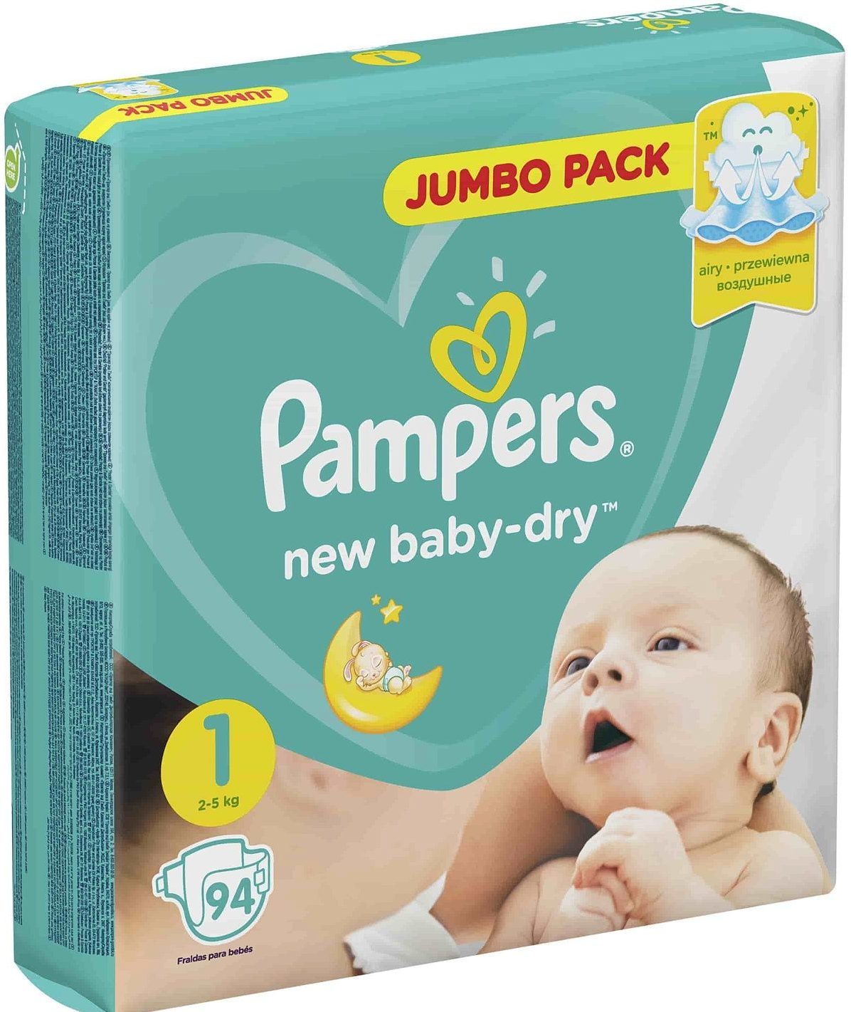 Pampers New Baby Dry 1